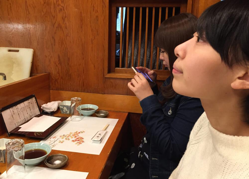新宿の天ぷら屋さん