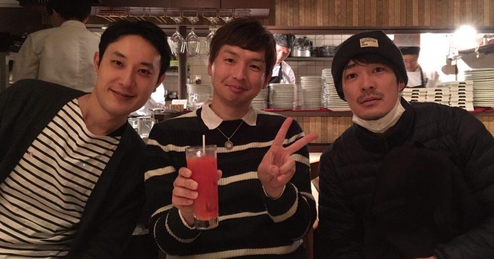 小濱と遠藤と柳田