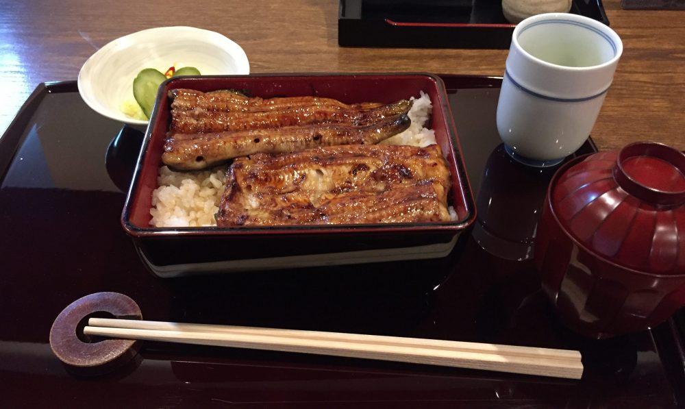 鰻を食べに横浜へ
