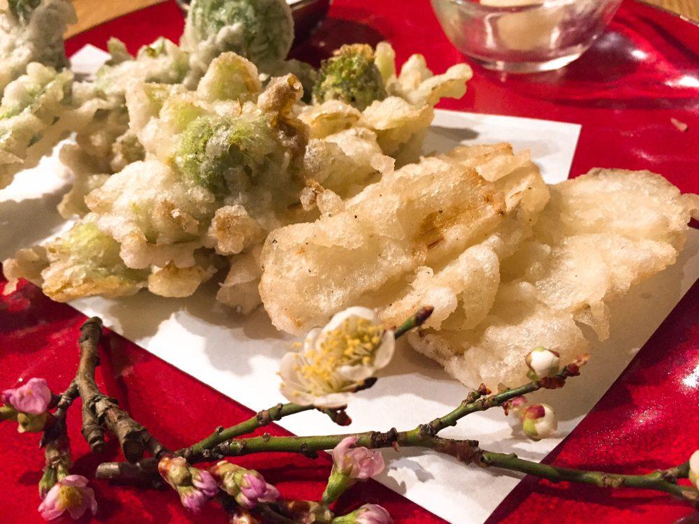山菜の天ぷら盛り合わせ