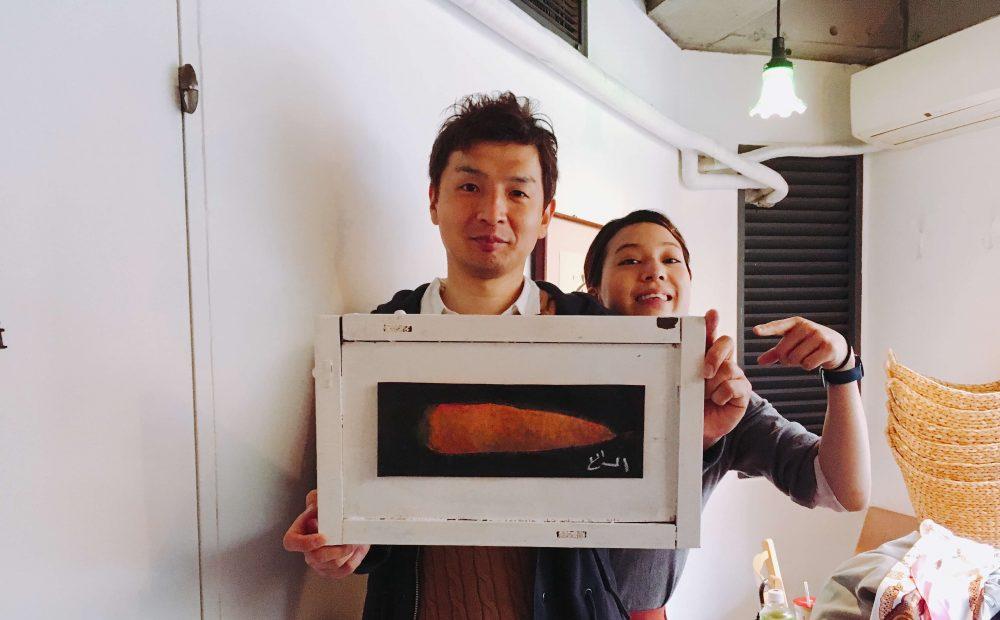 遠藤龍之介さんと木村文香さん