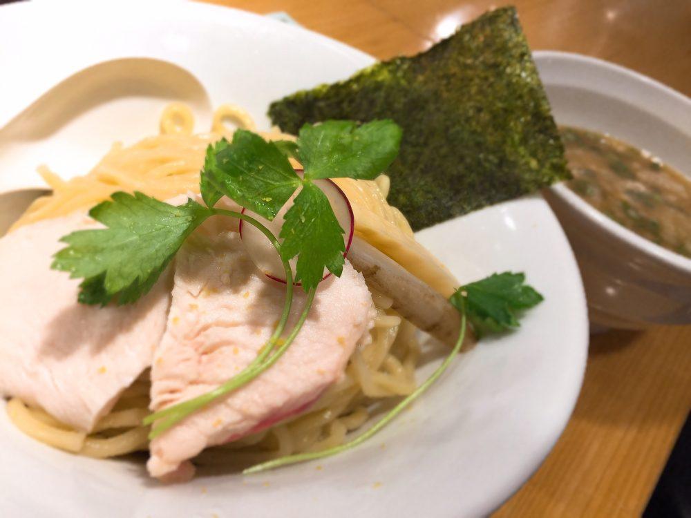 鶏白湯スープのつけ麺