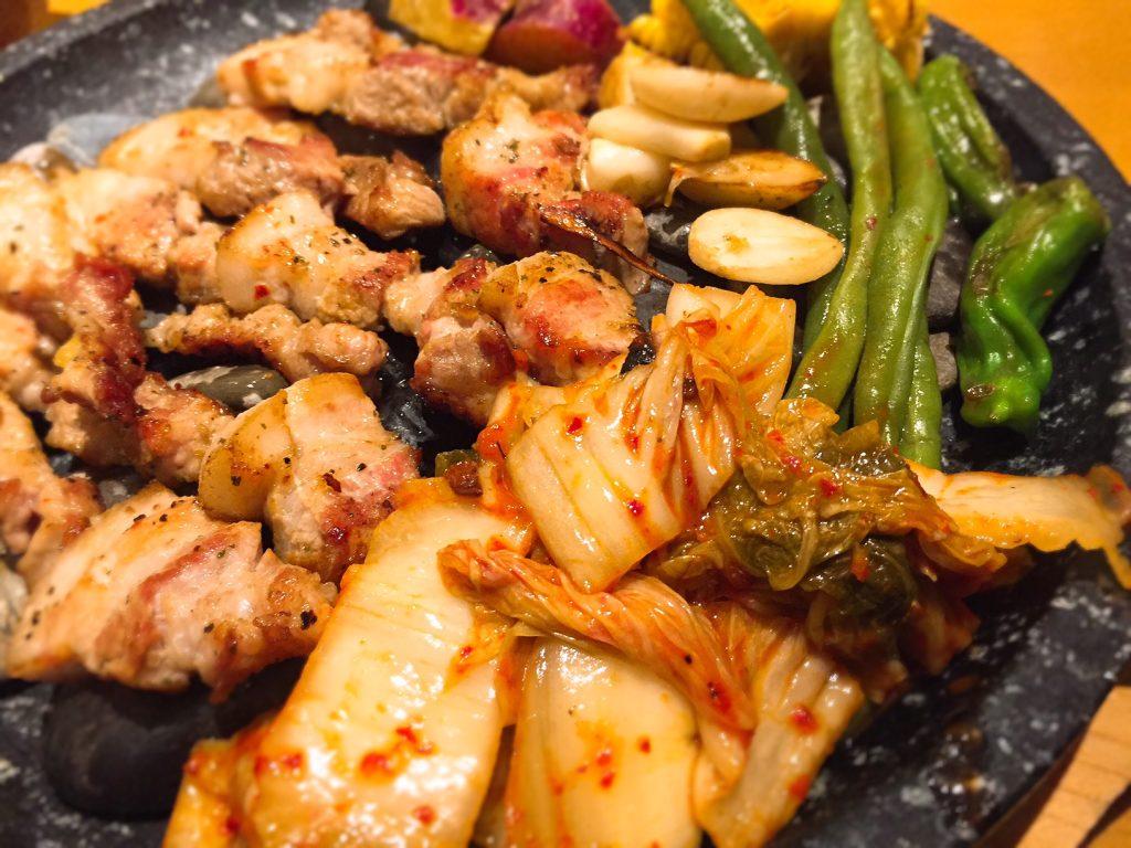 新大久保の韓国料理