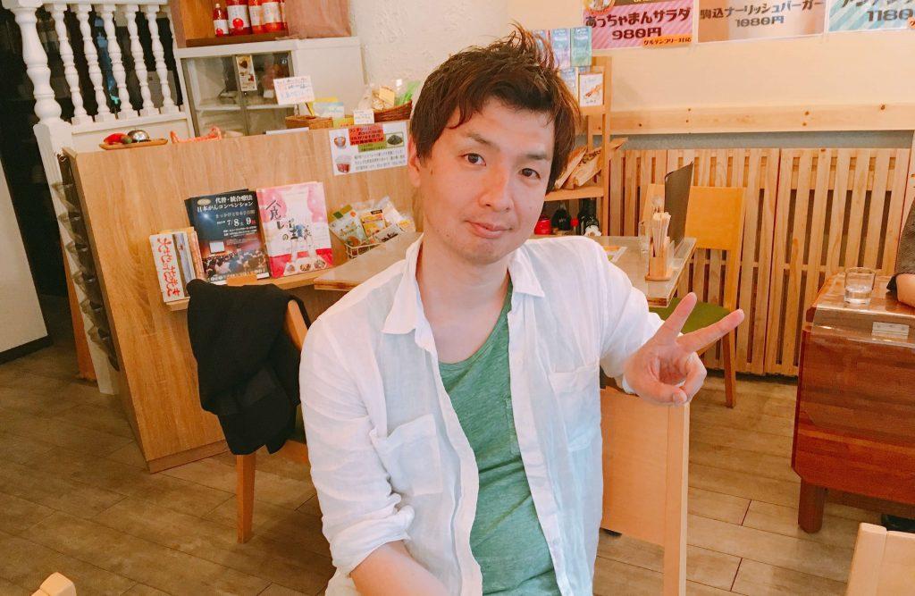すまし顔な遠藤さん