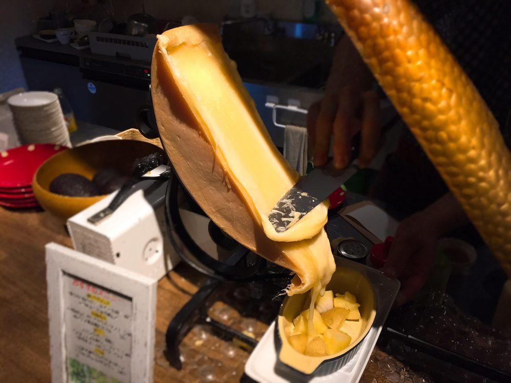 赤羽のラクレットチーズのお店