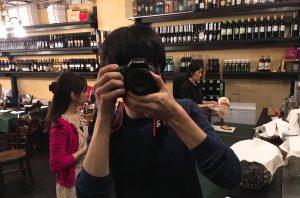撮る人は撮られる人