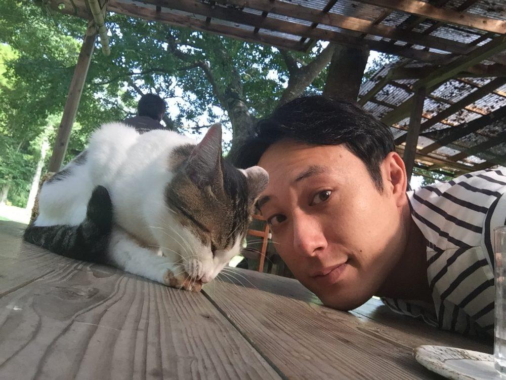 ネコと小濱