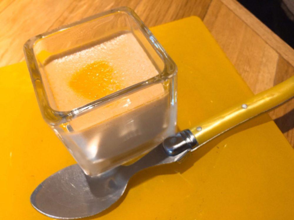 オマールエビの冷静茶碗蒸し