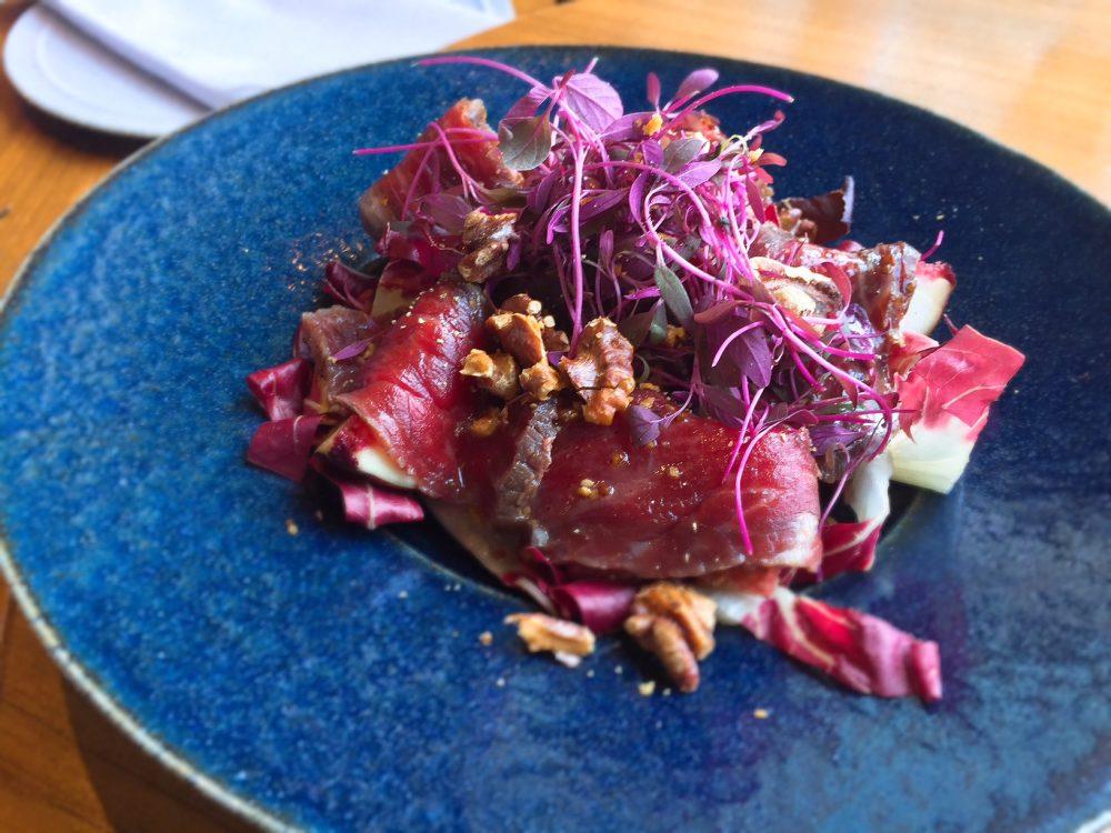 牛肉とイチジクのサラダ