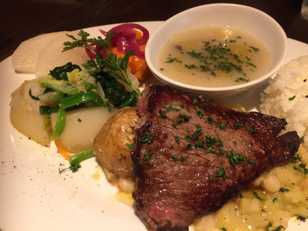 お肉も超絶美味しい「カーポラヴォーロ」